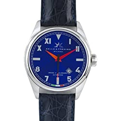 "Bello & Preciso italienische Herren-Armbanduhr Modell ""43"" Cobalto"