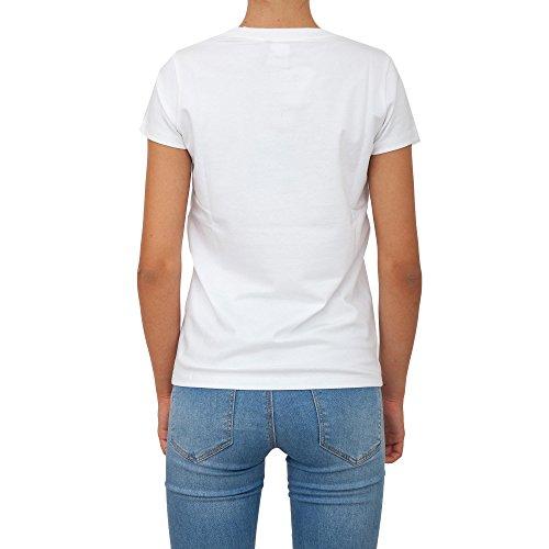T-shirt LIU JO Donna C67253 J7954)W9762 Bianco IH198C67253-J7954W9762 White