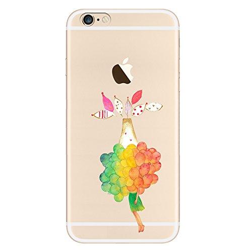 IPHONE 6plus Hülle Flamingos Katze Giraffe Weich Silikon TPU Schutzhülle Ultradünnen Case für iPhone 6 /6S plus Schutz Hülle qq8-1