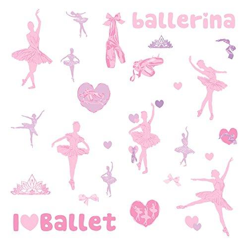 RoomMates 54181 Glitzerballerina -