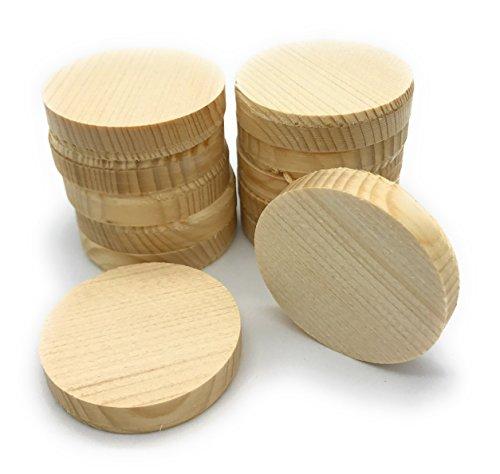 Querholzplättchen D=50mm 12-Stück/0,41€ Stück