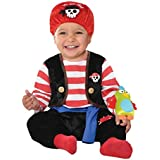 Infants Baby Buccaneer Pirates Outfit Halloween Toddlers Fancy Dress Costume