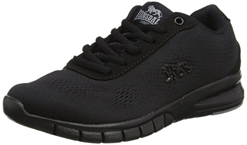 Lonsdale Women's Remi Multisport Outdoor Shoes, Black (Black), 6 UK 39 EU