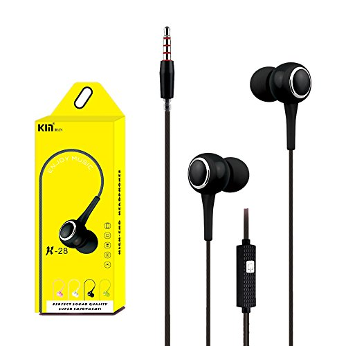 QINPIN 3,5-mm-In-Ear-Headset mit Kabel