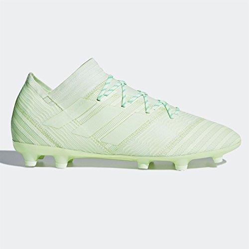 adidas NEMEZIZ 17.2 FG Hartbodenfußballschuhe für Erwachsene 46 Fußballschuhe, Hartböden, Erwachsene, Männer, Sohle mit Stollen, Grün, Einfarbig