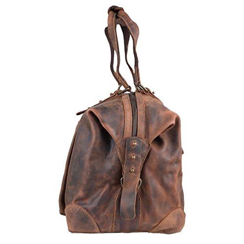 Greenland Classic Reisetasche Leder 54 cm brown