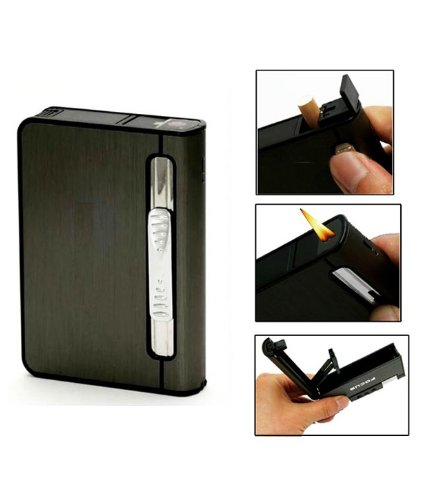 Focus 2 in 1 Cigarette Lighter Cum Holder Case  available at amazon for Rs.359
