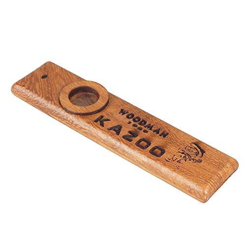 sunyin Holz Kazoo, exquisite Instrument einfach und Spaß haben für Kinder und Menschen Hum Lied
