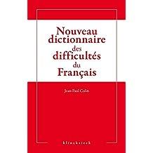 Nouveau dictionnaire des difficultés du français