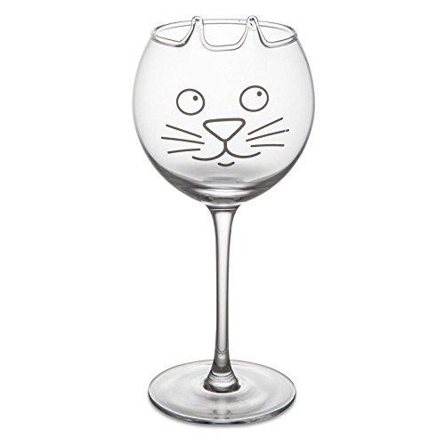 Kätzchen Weinglas - Kätzchen Glas Ohren