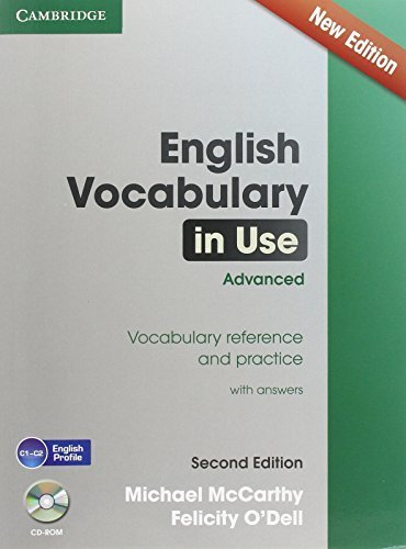 English Vocabulary in Use Advanced with CD-ROM: Vocabulary Reference and Practice by McCarthy, Michael, O'Dell, Felicity (2014) Paperback