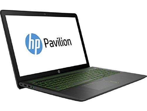 HP Pavilion Power 15-cb003ng 39,6 cm (15,6 Zoll) Laptop (Intel Core i5-7300HQ, 8 GB RAM, 1 TB HDD, 128 GB SSD, NVIDIA GeForce GTX 1050, Windows 10 Home 64) schwarz
