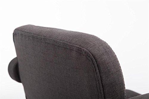 Clp sgabello design dublin in tessuto sgabello bar con seduta