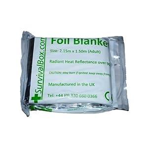 Foil Blanket (Adult) Pack of 5