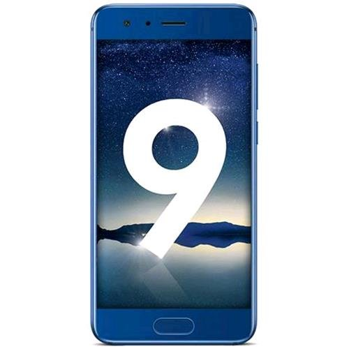 "Honor 9 (13,18 cm (5,2"" Zoll) Touch-Display, 16 GB Interner Speicher, Android 7.0) Blau"