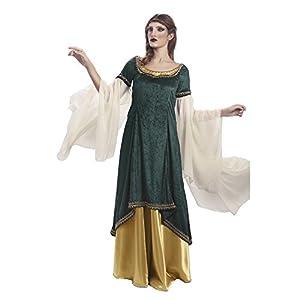 Limit da332 - Disfraz Medieval de Princesa galadrada