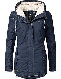 Ragwear Damen Jacke Winterjacke YM-Monade (vegan hergestellt) 5 Farben XS-XL