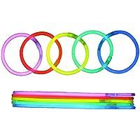 BYS 100 Premium Light Sticks resaltan Las Vigas y Accesorios Oscuros para Fiestas, Bodas y