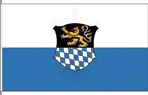 Königsbanner Hissflagge Bacharach - 100 x 150cm - Flagge und Fahne