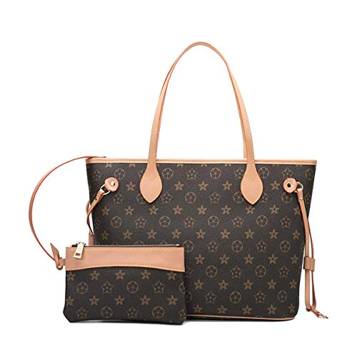JUN GUANG 2019 Frauen Handtaschen Leder-Suit-Tasche New Look Women es Top-Handle Bag Flap Crossbody Bag Hobo Crossbody Bag,A