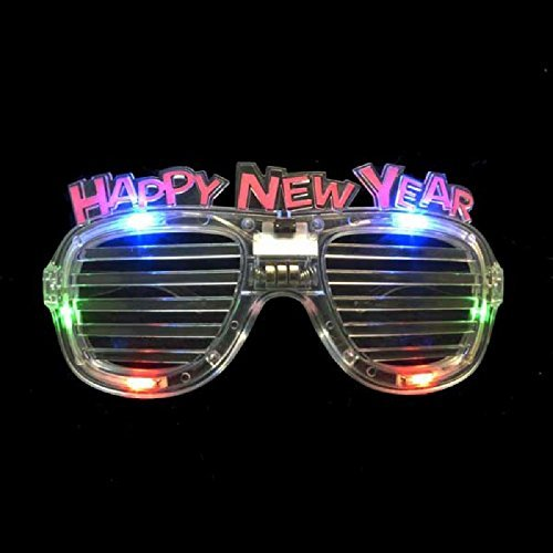 12-Pairs-of-Led-Flashing-Light-up-Party-Happy-New-Years-Glasses-by-Mammoth-Sales-Multi-Color