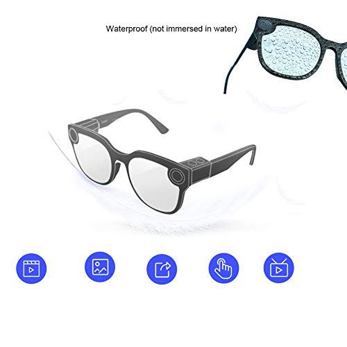 Gafas Inteligentes multifunción Bluetooth Recargables