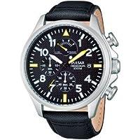 Reloj Pulsar Uhren PS6053X1 de cuarzo para hombre con correa de acero inoxidable, color plateado de Pulsar
