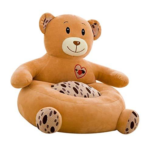 F Fityle Kinder Tiere Sitzsackhülle Sitzsack Sitzkissen Sitzsäcke für Kinderzimmer Wohnzimmer - Bär