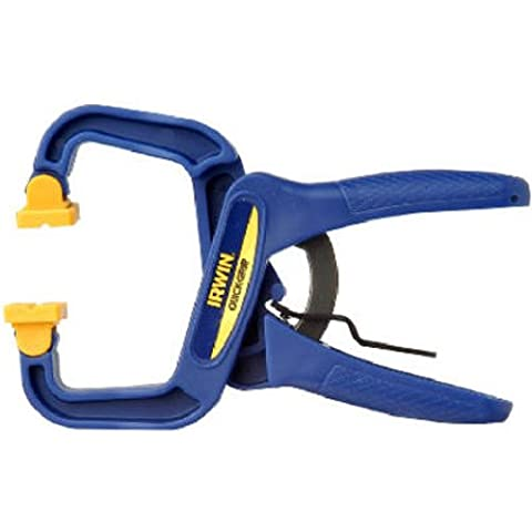 Quick-Grip Irwin 59100 Handy Adjustable Clamp with Quick Release Lever