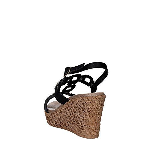 Cinzia Soft IZ97001 002 Sandalo Donna Nero/Oro