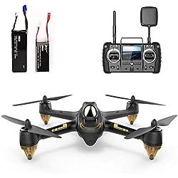Hubsan H501S X4 Brushless FPV Quadricoptère Drone GPS avec Caméra 1080P HD 5.8Ghz High Edition (H501S Noir Pro)