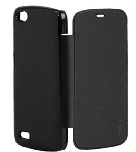 XRIS Original flip cover / Case for Gionee Elife E3 - Black  available at amazon for Rs.145