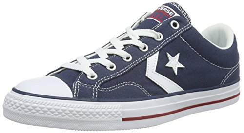 Converse Star Player Ox Unisex Canvas  - Sneaker, Blu & Bianco, taglia 41.5