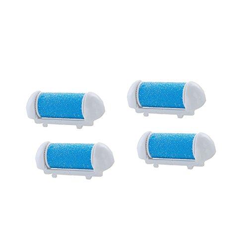 Ein Vorrat an 4 Ersatzrollen für iheyfill Elektrischer Hornhautentferner, NUR für iheyfill Hornhautentferner. Nicht für andere Modelle