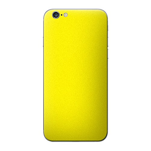 Cruzerlite Antibacterial Skin for the Apple iPhone 6 Plus - Retail Packaging - Yellow (Back Only) Yellow