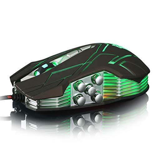 Y.G Gaming-Maus, 3500 DPI, Optische USB-Maus, 10 Tasten, 4 LEDs, atmend, 4 DPI verstellbar, 10 Tasten (Windows 7 Hp-laptop-touch-screen)