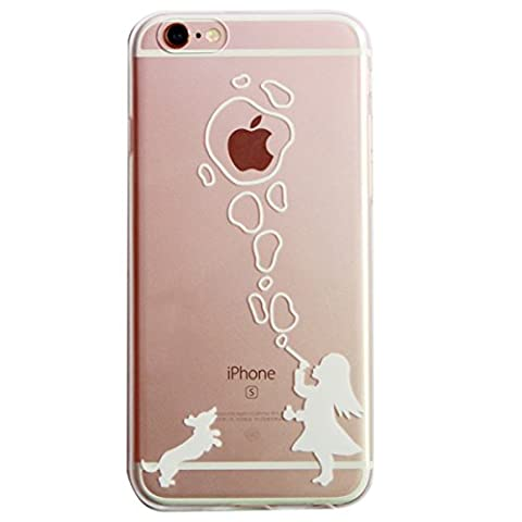 Coque de protection en silicone TPU pour iPhone 6/6S de 4,7