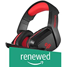 (Renewed) Cosmic Byte H1 Gaming Headphone with Mic for PC, Laptops, Mobile, PS4, Xbox One (Red)