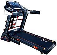 PowerMax Fitness TDA-230M (4HP Peak) Motorized Treadmill with Free Installation, 3 Years Motor Warranty, Home