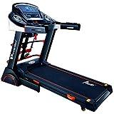 PowerMax Fitness TDA-230M (4HP Peak) Motorized Treadmill with Free Installation, 3 Years Motor Warranty, Home Use - Foldable,