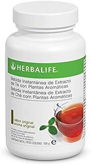 Bebida Instantánea a base de extracto de Té Herbalife con té negro, verde, flor de malva, flor de hibisco y se