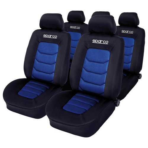 sparco-spc1019az-seat-cover-set-black-blue