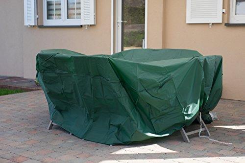 Genius ideas R 079150 Gartentischabdeckung, rund
