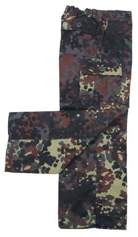 Kinder BW US Army Hose Rangerhose BDU flecktarn S-XXL (122-176) 134/140,flecktarn 134/140,Flecktarn