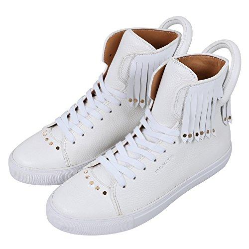 Aijiaer Chaussures fille en cuir de mode doux confortable blanc