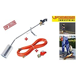 Rothenberger Industrial-RoMaxi Economy les chalumeaux de préchauffage et régulateur de bar avec 4 tuyaux et de 1500000930 5 m