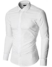 MODERNO - Slim Fit Business Chemise Homme (MOD1447LS)