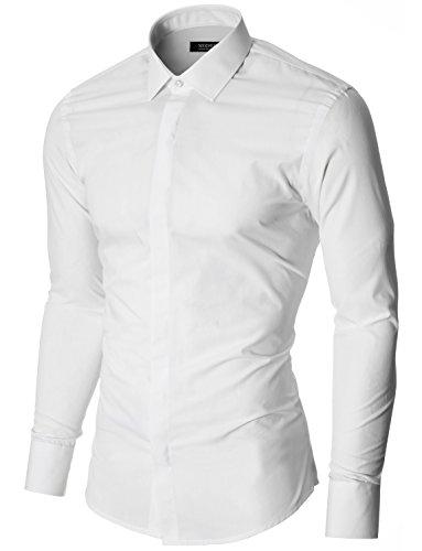 MODERNO - Slim Fit Business Herren Hemd (MOD1447LS)