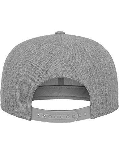 Classic casquette flexfit bonnet pour adulte Gris - Chiné