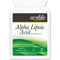 Zestlife Acido Alfa Lipoico 200mg 60 compresse Questo potente antiossidante